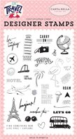 Clear Stamp - Let's Travel - Let's Go