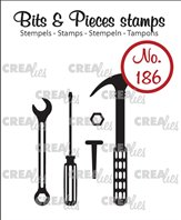 Crealies Clear Stamp - Tools