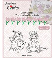 Clear stamps - Crocodile