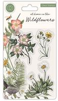 Clear stamp - at home in the Wildflowers - Flora