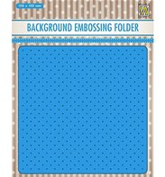 Embossing Folder - Background - Small dots