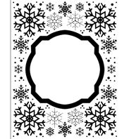 Embossing Folder - Eve's Snowflakes