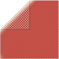Papier - Dots&stripes - Cherry red