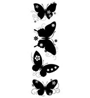 Clear Stamp - Butterfly Silhouettes