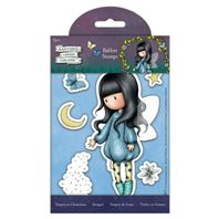 Gorjuss - large rubber stamp - Bubble fairy