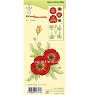 Clear Stamp - Poppy 3d Flower