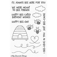 Clear Stamps - Meant to Bee