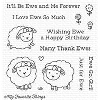Clear Stamp - Ewe and Me Forever