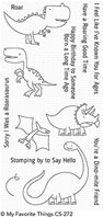 Clear stamps - Delightful dinosaurs