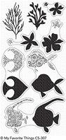 Clear Stamps - Adorned Ocean Friends
