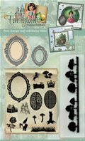Dies, stamps and embossing folder - Fairytales