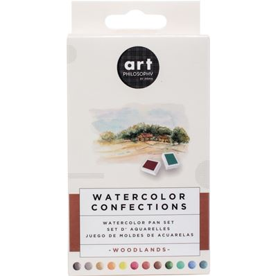 Watercolor Confections - Woodlands