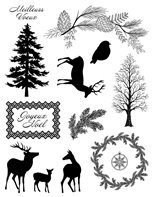 Clear Stamps - Misty Winter