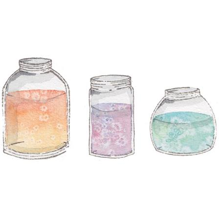 Stamp - Swatch Kit - Assorted Jars