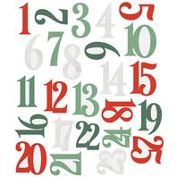 Die Cut - Country Christmas - Number