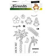 Clear Stamp - Favourites - Tropical Jungle 335