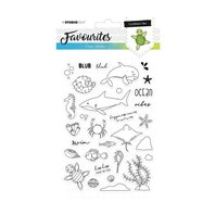 Favourites Clear Stamps- Caribbean sea - 383
