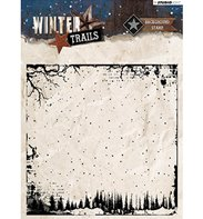 Clear Stamp - Winter Trails