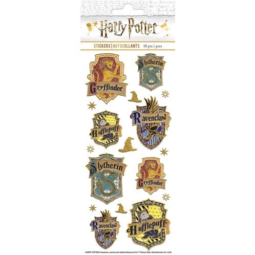 Harry Potter - Stickers blasons