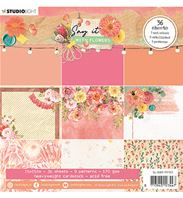 Paper pad - Say it with flowers - 161