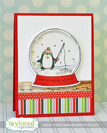 Cling Stamp - Snow Globe