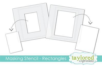 Masking Stencil - Rectangles