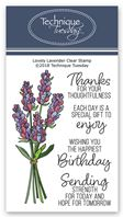 Clear Stamp - Lovely Lavender