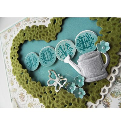 Craftables - Topiary Heart