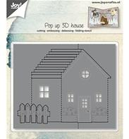 Cutting die - Pop up 3D House