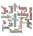 Thinlits - Holiday Words par Tim Holtz
