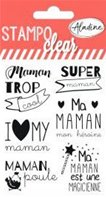 Clear Stamp - Maman