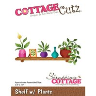 Cottage Cutz - Shelf with Plants