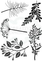 Clear Stamps - Woodland Sprigs