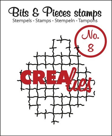Crealies Clear Stamp - Mesh