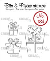Crealies Clear Stamp - Presents