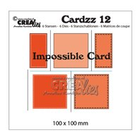 Crealies - Cardzz - Impossible card