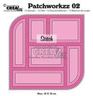 Crealies - Patchworkzz 02