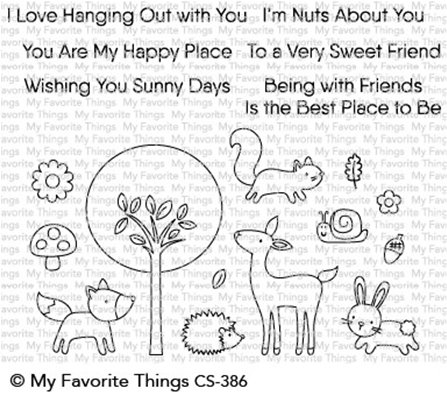 Clear Stamp - Sweet Spring Friends