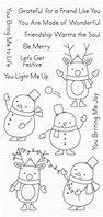 Clear stamp - Festive Friends