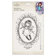 Gorjuss - Embossing Folder - Bound for Heaven