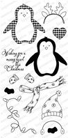 Clear Stamps - Merry Penguin