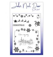 Clear stamp - Christmas Scene