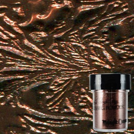 Embossing Powder - Midnight Copper
