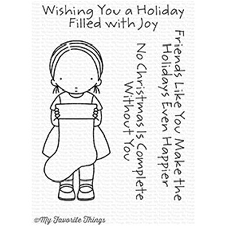 Clear Stamps - Filled with Joy