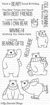 Clear Stamps - Polar Bear Pals