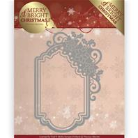 Die - Merry&Bright Christmas - Poinsettia ornament