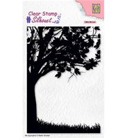Clear stamp - Tree