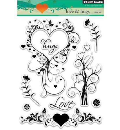 Clear Stamps - Love&hugs