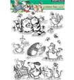 Clear Stamps - Critter fun