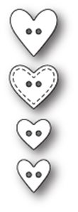 Die - Heart Buttons